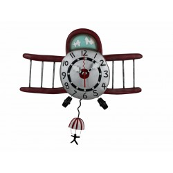 HORLOGE ALLEN DESIGN AIRPLANE JUMPER