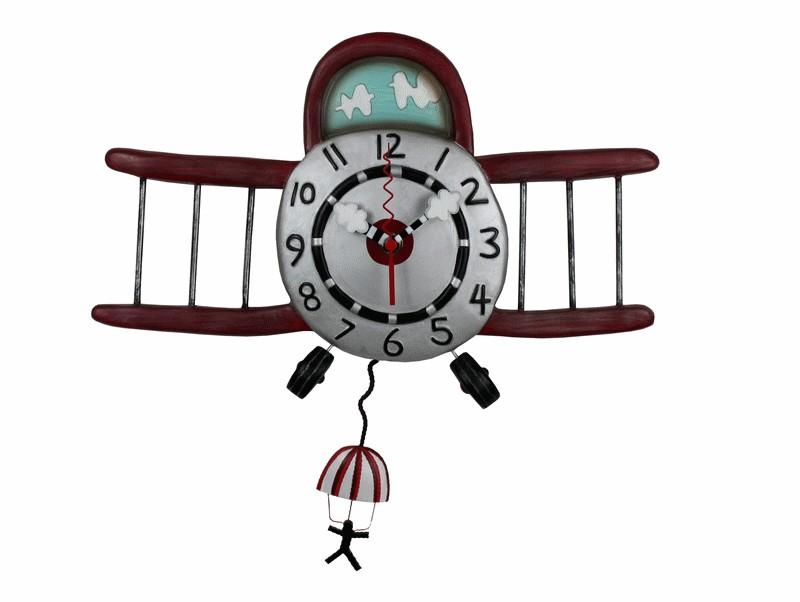 HORLOGE ALLEN DESIGN AIRPLANE JUMPER