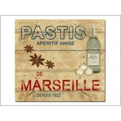DESSOUS DE PLAT <br> PASTIS DE MARSEILLE