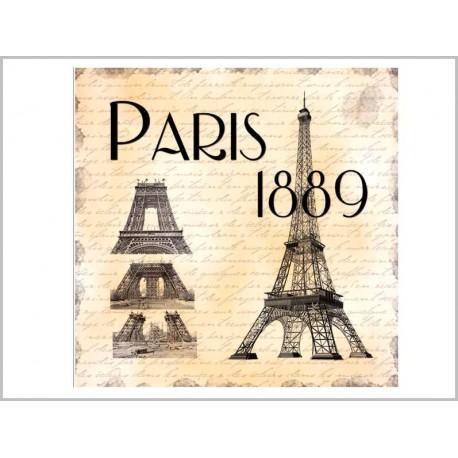 DESSOUS DE PLAT <br> PARIS 1889