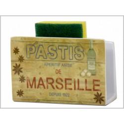 PORTE EPONGE PASTIS DE MARSEILLE
