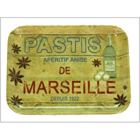 PLATEAU VIDE-POCHES <br> PASTIS DE MARSEILLE