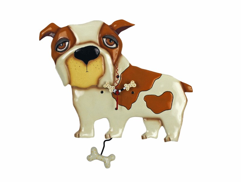 HORLOGE ALLEN DESIGN BOULEDOGUE