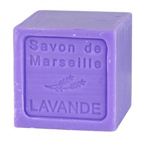 SAVON DE MARSEILLE LAVANDE CUBE 300 GR.