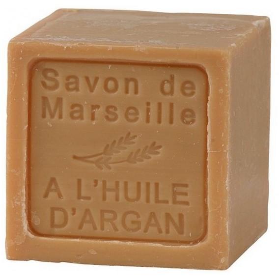 SAVON DE MARSEILLE CUBE A L'HUILE D'ARGAN-300 GR.