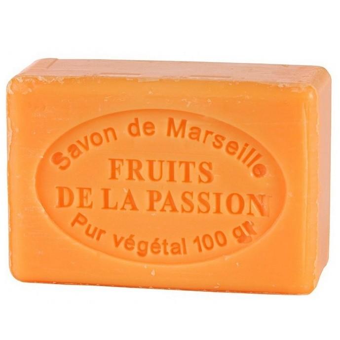 SAVON DE MARSEILLE FRUITS DE LA PASSION -100 GR.
