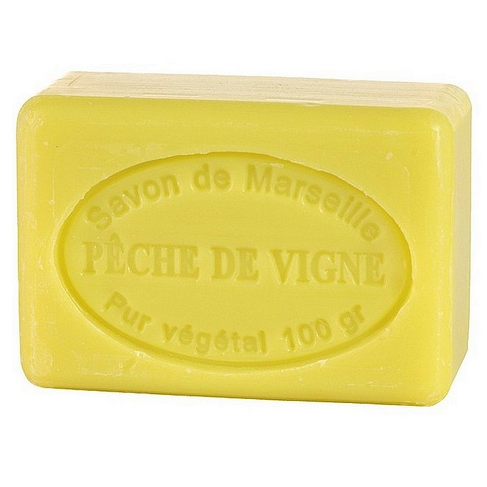 SAVON DE MARSEILLE PECHE-ABRICOT -100 GR.