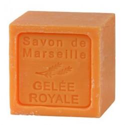 SAVON DE MARSEILLE CUBE A LA GELEE ROYALE-300 GR.