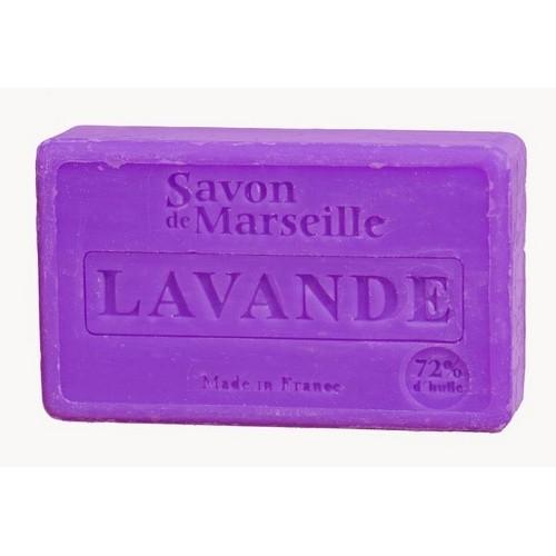 SAVON DE MARSEILLE LAVANDE - 100 GR.
