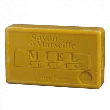 SAVON DE MARSEILLE MIEL D'ACACIA-100 GR.