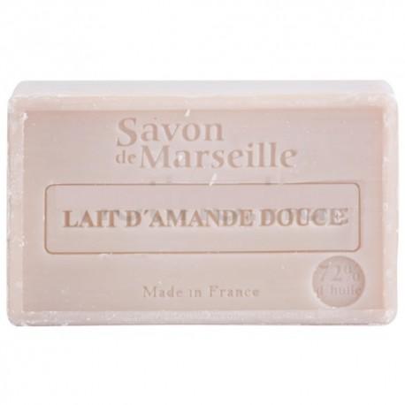SAVON DE MARSEILLE AU LAIT D'AMANDE DOUCE-100 GR.