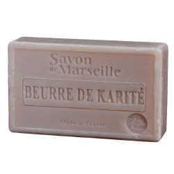 SAVON DE MARSEILLE BEURRE DE KARITE-100 GR.