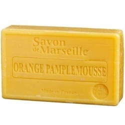 SAVON DE MARSEILLE ORANGE-PAMPLEMOUSSE -100 GR.