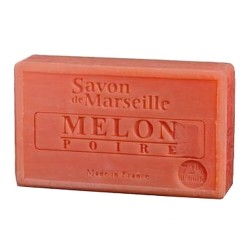 SAVON DE MARSEILLE PARFUM MELON-POIRE -100 GR.
