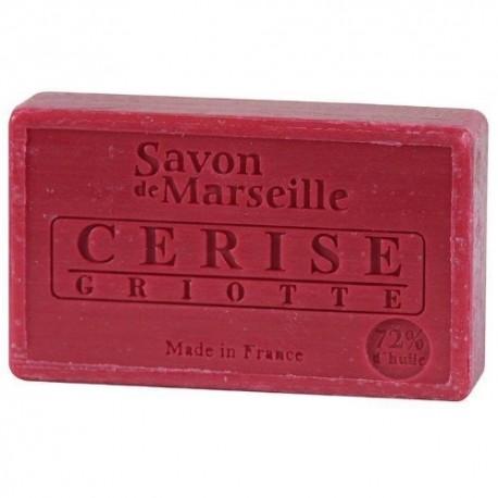 SAVON DE MARSEILLE CERISE GRIOTTE -100 GR.