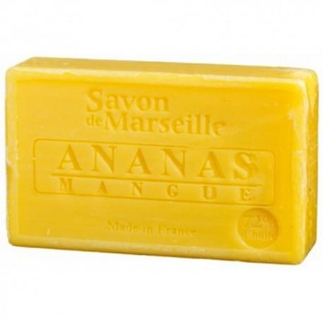 SAVON DE MARSEILLE ANANAS-MANGUE-100 GR.