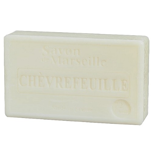 SAVON DE MARSEILLE PARFUM CHEVREFEUILLE -100 GR.