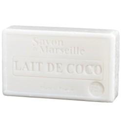 SAVON DE MARSEILLE AU LAIT DE COCO -100 GR.