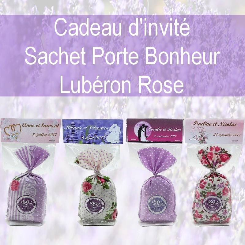 CADEAUX D INVITES PERSONNALISES LUBERON ROSE