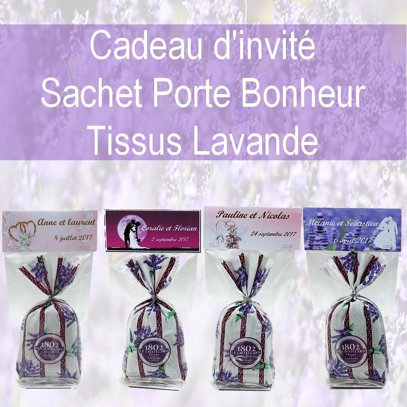 CADEAUX D INVITES PERSONNALISES MOTIF LAVANDE