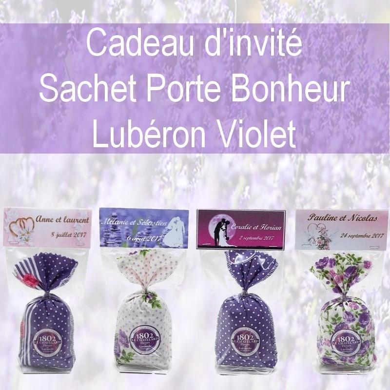 CADEAUX D INVITES PERSONNALISES LUBERON VIOLET
