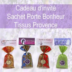 4 SACHETS DE LAVANDE POUR CADEAUX D INVITES
