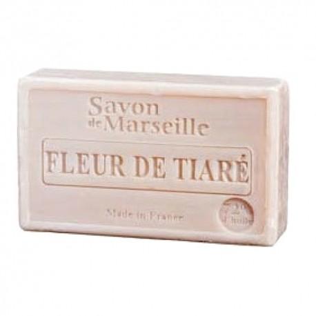 SAVON DE MARSEILLE FLEUR DE TIARE-100GR.